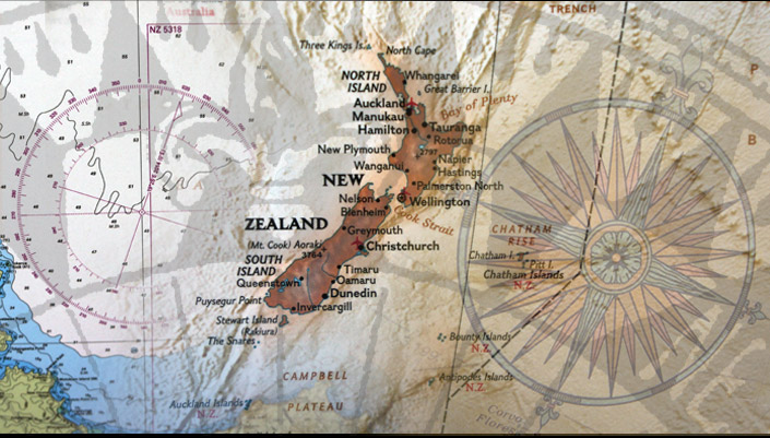 Hamilton New Zealand Map.Map And Chart Shop